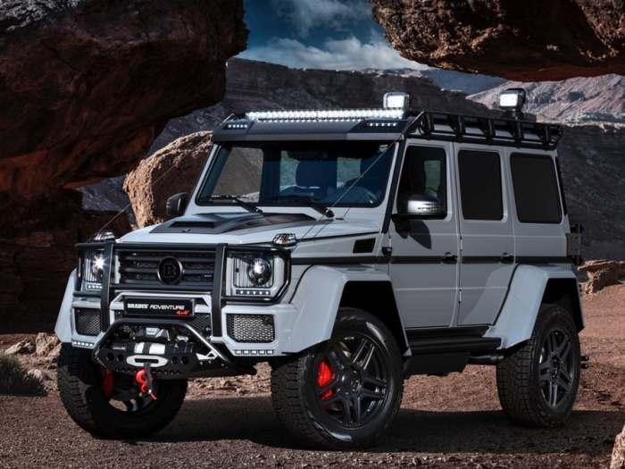 Mercedes представил новый невероятный внедорожник, для любителей путешествовать