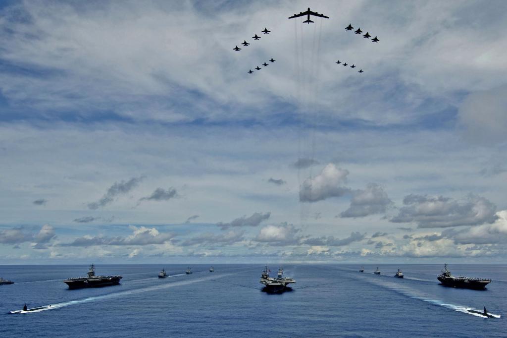 Состав ВМС США: описание