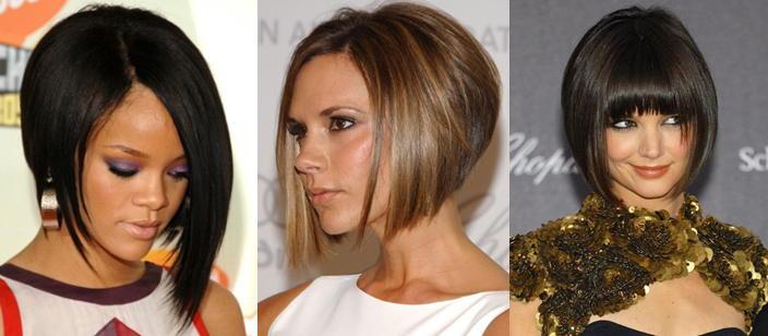 Стрижка градуированный боб: фото прически на короткие и средние волосы, интересные идеи укладки