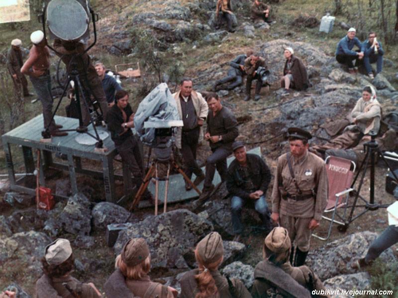 Насъёмочных площадках незабываемых советских фильмов