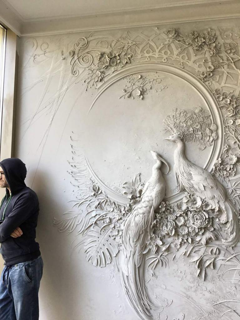 Барельеф на стене своими руками: идеи, инструкции, мастер класс