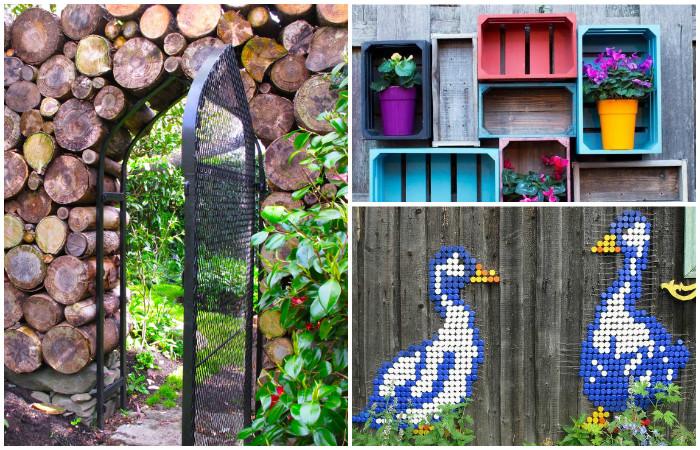 16 потрясающих идей оформления дачного забора, который удивит соседей и прохожих