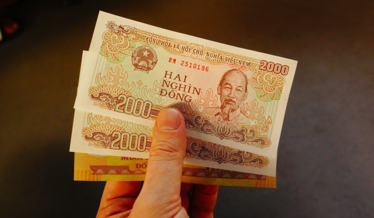 Вьетнамский донг, курс к рублю и доллару