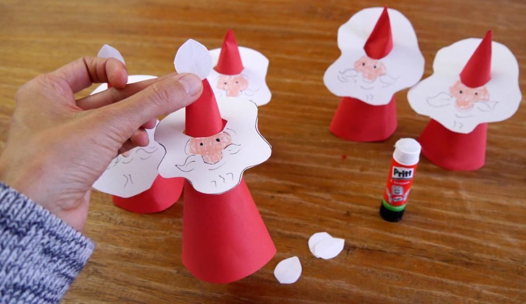 Как сделать Деда Мороза своими руками: фото, материалы, интересные идеи