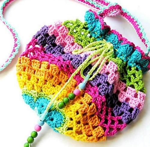 ce90af75b2c7 Детская сумочка крючком: описание, схемы, полезные советы