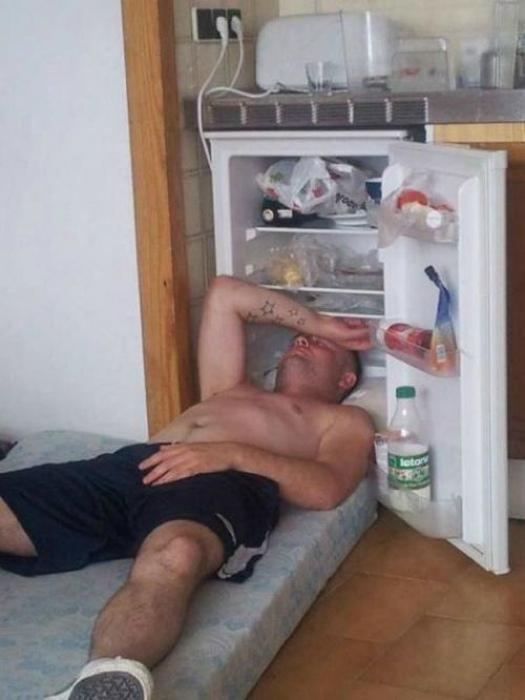 17 жизненных и очень забавных фотографий о выживании в жару