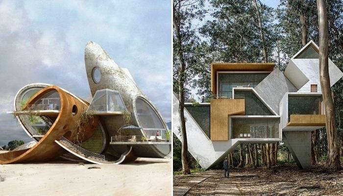 «Порождение хаоса»: сюрреалистическая фантазия в проектах испанского архитектора