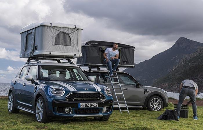Палатка багажник, которая превратит любой автомобиль в дом на колесах