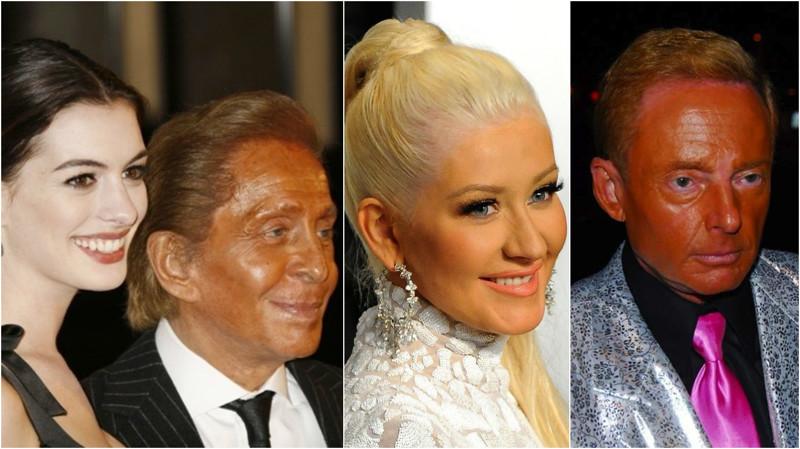 Знаменитости, которые переборщили савтозагаром