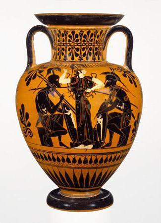 Древнегреческая керамика роспись по белому фону