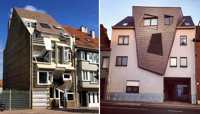 Сплошное недоразумение, или Почему в Бельгии неприлично много причудливо-странных домов