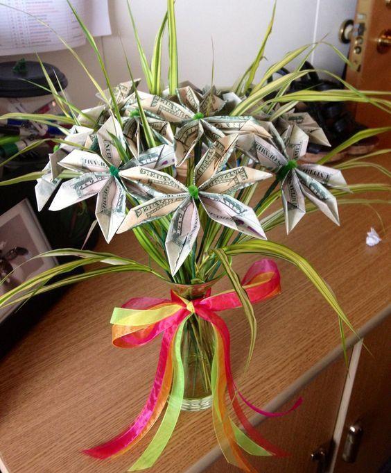 Сделать цветок из денег своими руками пошаговая инструкция фото 214