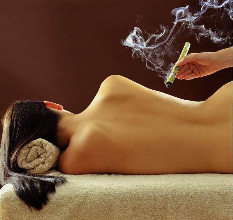 Восточный секрет долголетия: Прижигание полынными сигарами