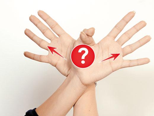 """Почему у безымянного пальцы нет """"имени""""? Никогда бы не подумала!"""