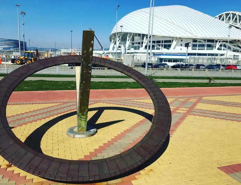 Солнечные часы вОлимпийском парке Сочи   зачем жетак