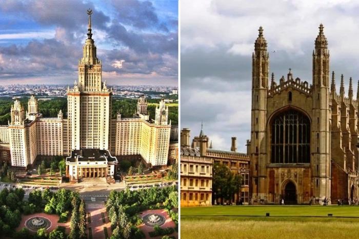 10 университетских зданий мира, которые являются признанными шедеврами архитектуры