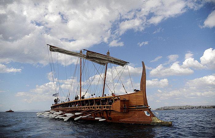 «Навались»: каково было гребцам на галере в древние времена
