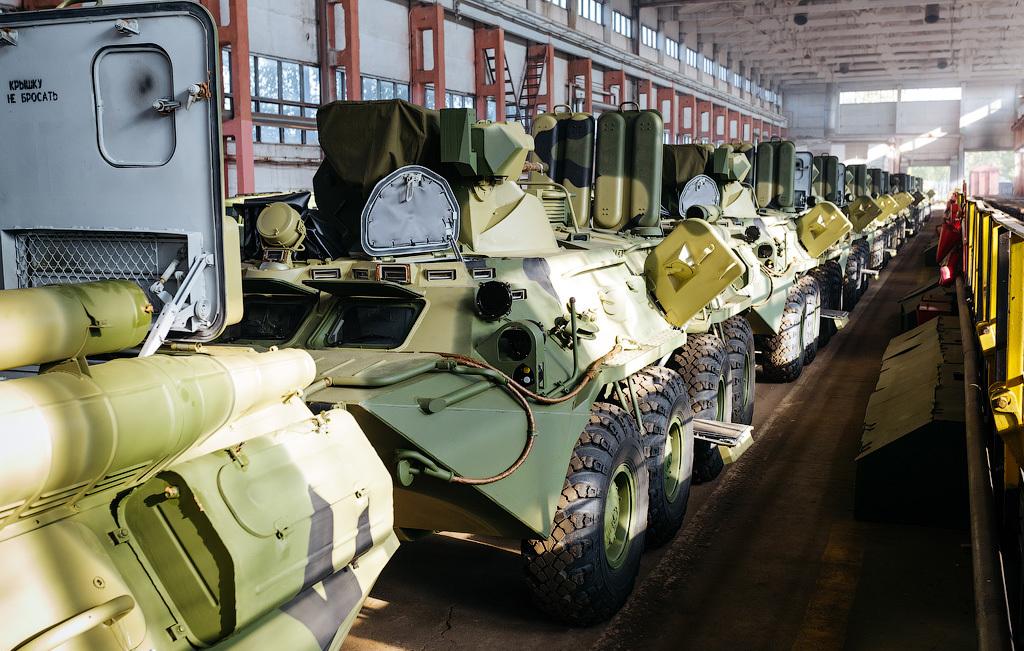 БТР-82А: фото, технические характеристики