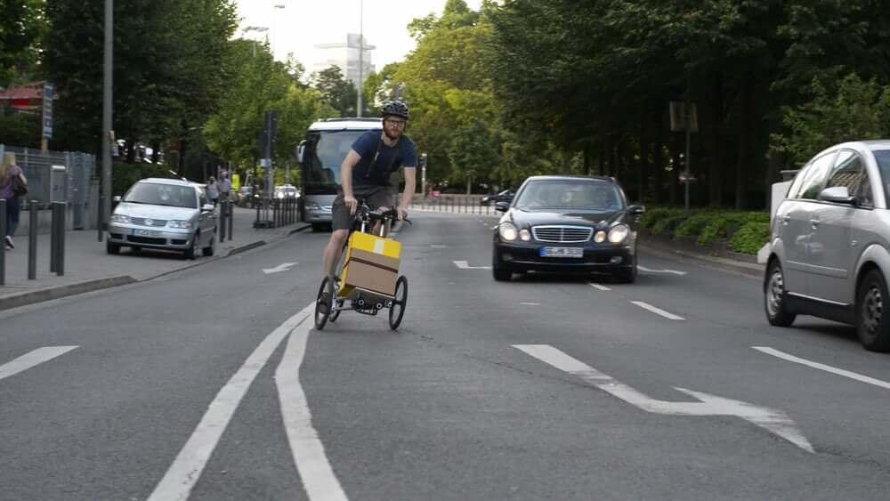 Велосипед для перевозки грузов