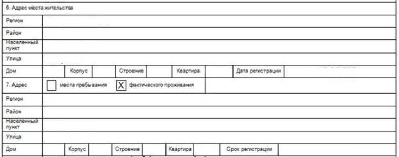 Заявление на загранпаспорт: требования к заполнению, образец