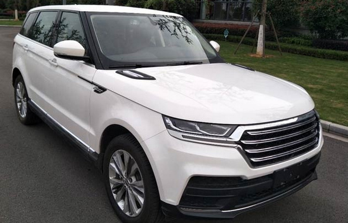 Made in China: в Китае стартовал выпуск копии Range Rover почти в десять раз дешевле оригинала