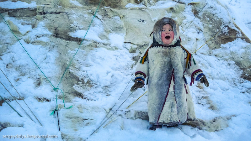 Ненецкая девочка пингвинчик Соня изСалехарда