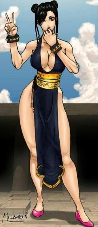 Наташа Энчиноза — живое воплощение героини видеоигр Чунь Ли