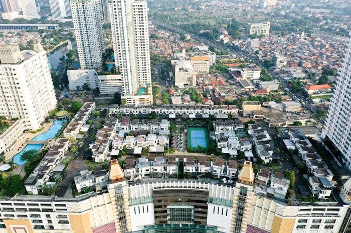 Пригород под небесами, или Как в Индонезии построили деревню на крыше торгового центра