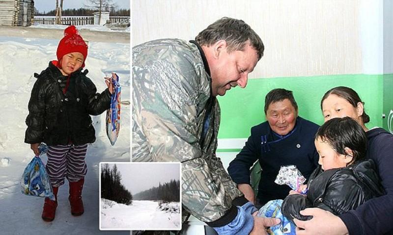 4 летняя девочка привела помощь кродным через зимнюю тайгу!