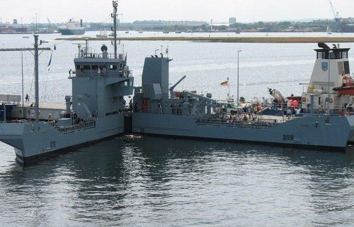 Для чего немецкое судно Bottsand раскладывается «ножницами» под 65 градусов